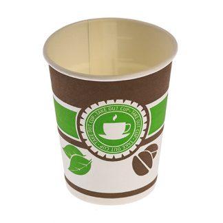 """Стакан бумажный """"Чай Кофе"""" 1 слой"""