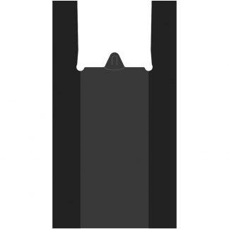 Пакет-Майка черная 42+20*70 (17 мкм) (1000/10/100)