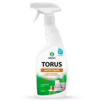 Очиститель-полироль для мебели Torus АНТИ-ПЫЛЬ (флакон 600 мл)