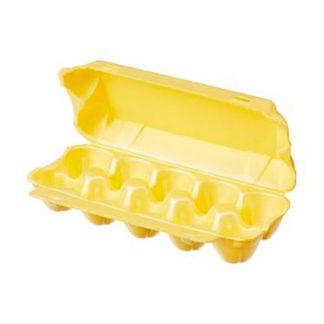 Упаковка для яиц ВПС 10 желтая на 10шт.