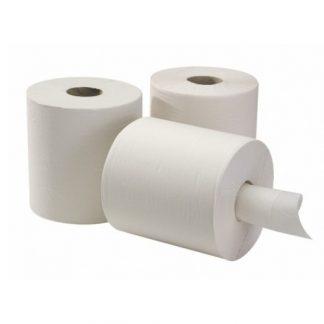 Бумажные рулонные полотенца Belux professional центральная вытяжка с перфорацией