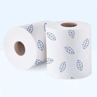 Бумажные рулонные полотенца Belux professional 2-слоя, 150м, с рисунком