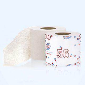 "Туалетная бумага ""Евро Стандарт"" 56, 1сл., однорулонная"