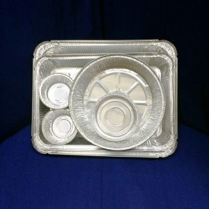 Набор алюминиевой посуды для запекания