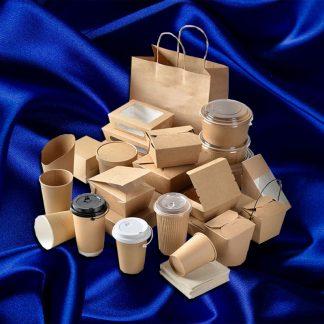 Бумажная посуда и упаковка
