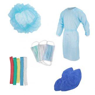 СИЗ - Перчатки, фартуки, бахилы
