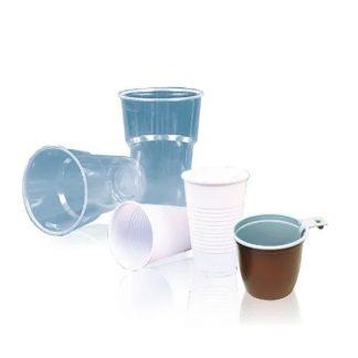 Стаканы, чашки пластиковые